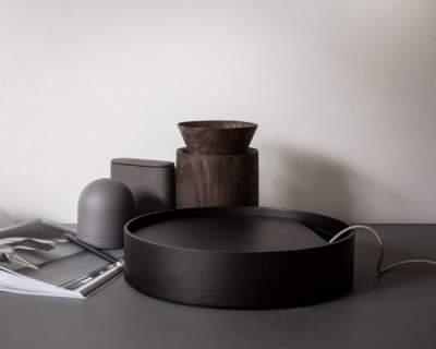 Okrągły pojemnik na drobiazgi Menu Round Box