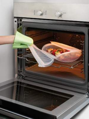 Naczynie do gotowania na parze w piekarniku i mikrofali Lekue