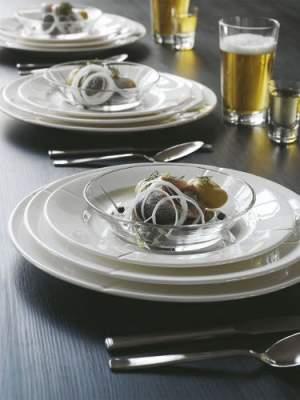 Szklane talerzyki głębokie Grand Cru Rosendahl - 4 sztuki
