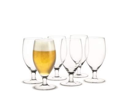 Kieliszki do piwa Holmegaard Royal 6 sztuk