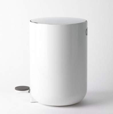 Kosz na śmieci do łazienki Menu BATH biały