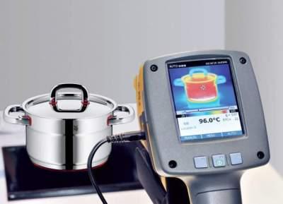 Zestaw garnków stalowych do indukcji WMF Premium One - 6 garnków